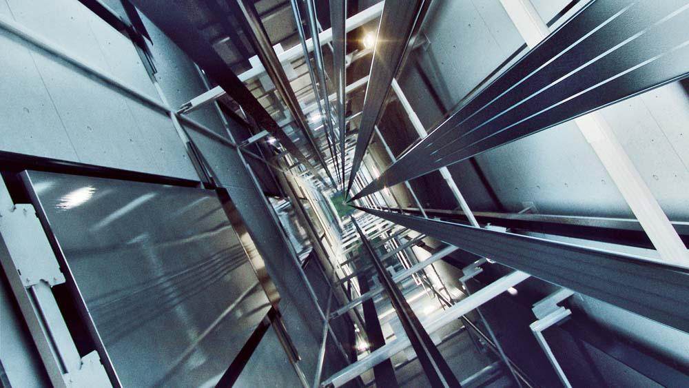 Cáp thép dẹt cấu tạo thang máy